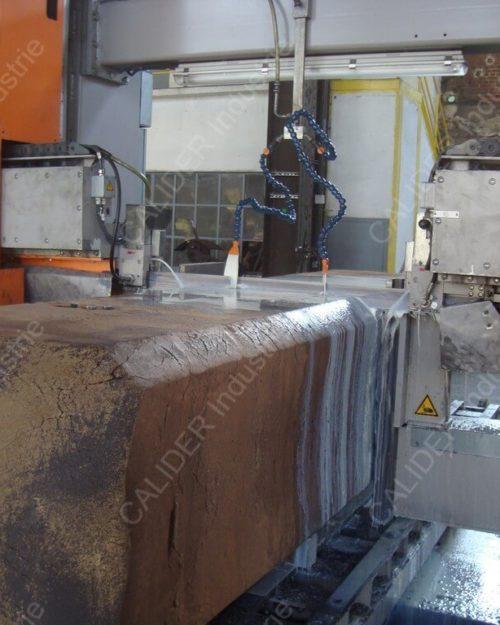 Sciage unitaire lingots forge