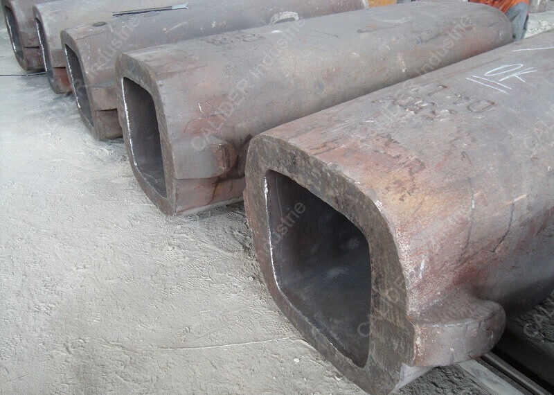 Entretien de lingotières par grenaillage - état de surface après grenaillage