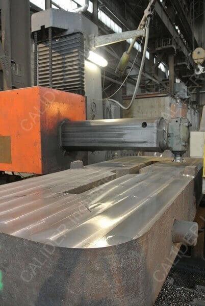 Réparation plaques de source - surfaçage en cours